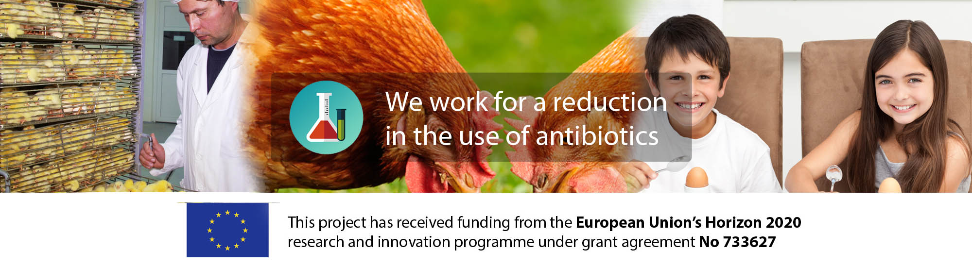 We work for a reduction in the use of antibiotics